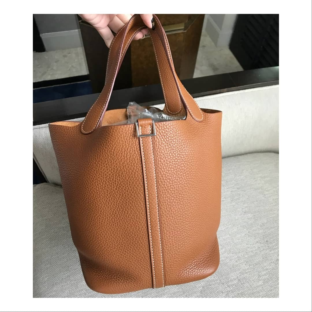 27e398cb7f66 ... promo code for authentic hermes picotin 22 gold luxury bags wallets on  carousell e5e9c 4931b