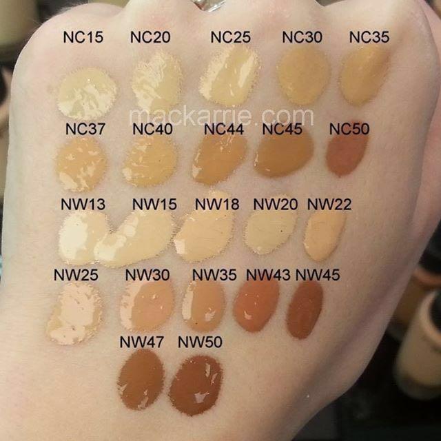 �ล�าร���หารู��า�สำหรั� MAC Mineralize Concealer Nc15