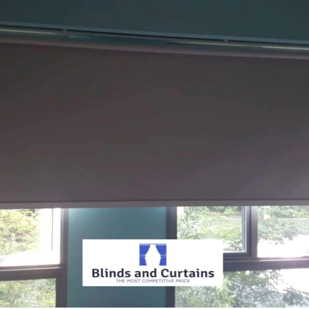 Blackout Roller Blind, Furniture, Home Decor, Others on Carousell