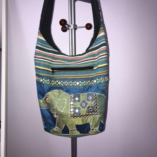 Boho shoulder bag