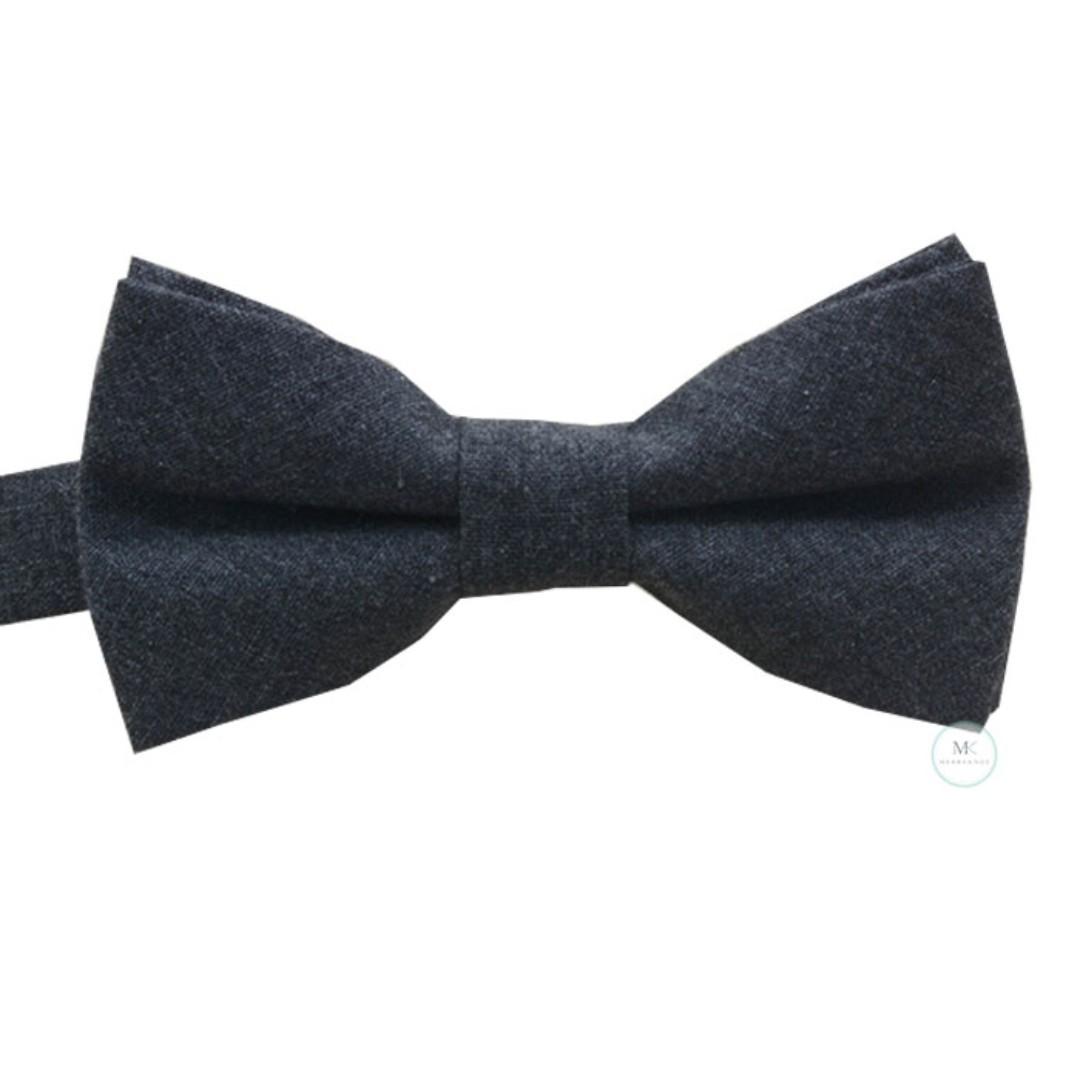 da4b313a12c8 British Casual Bow Tie Dark Grey Adult Men wear Man accessory, Men's ...