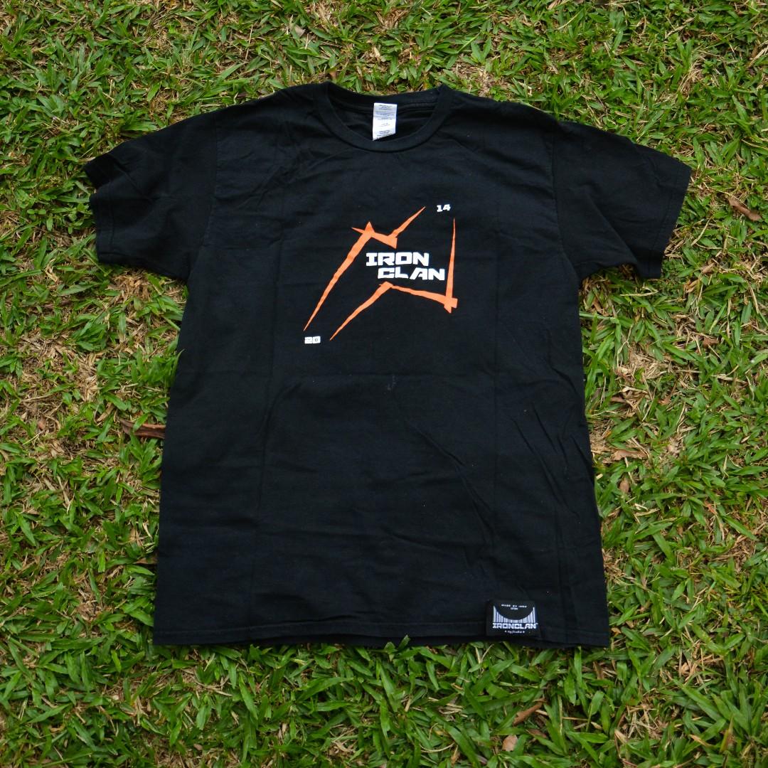 d92ac826d BUNDLESTER // Tshirt Iron Clan RM20 (Nego till letgo), Men's Fashion ...
