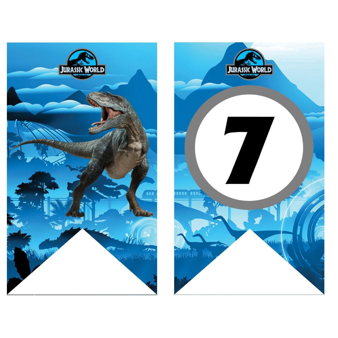 Bunting Banner - Jurassic World