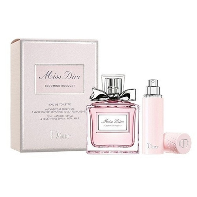 244a3fe4cadc Christian Dior Miss Dior Blooming Bouquet 2 Pcs Travel Gift Set For ...