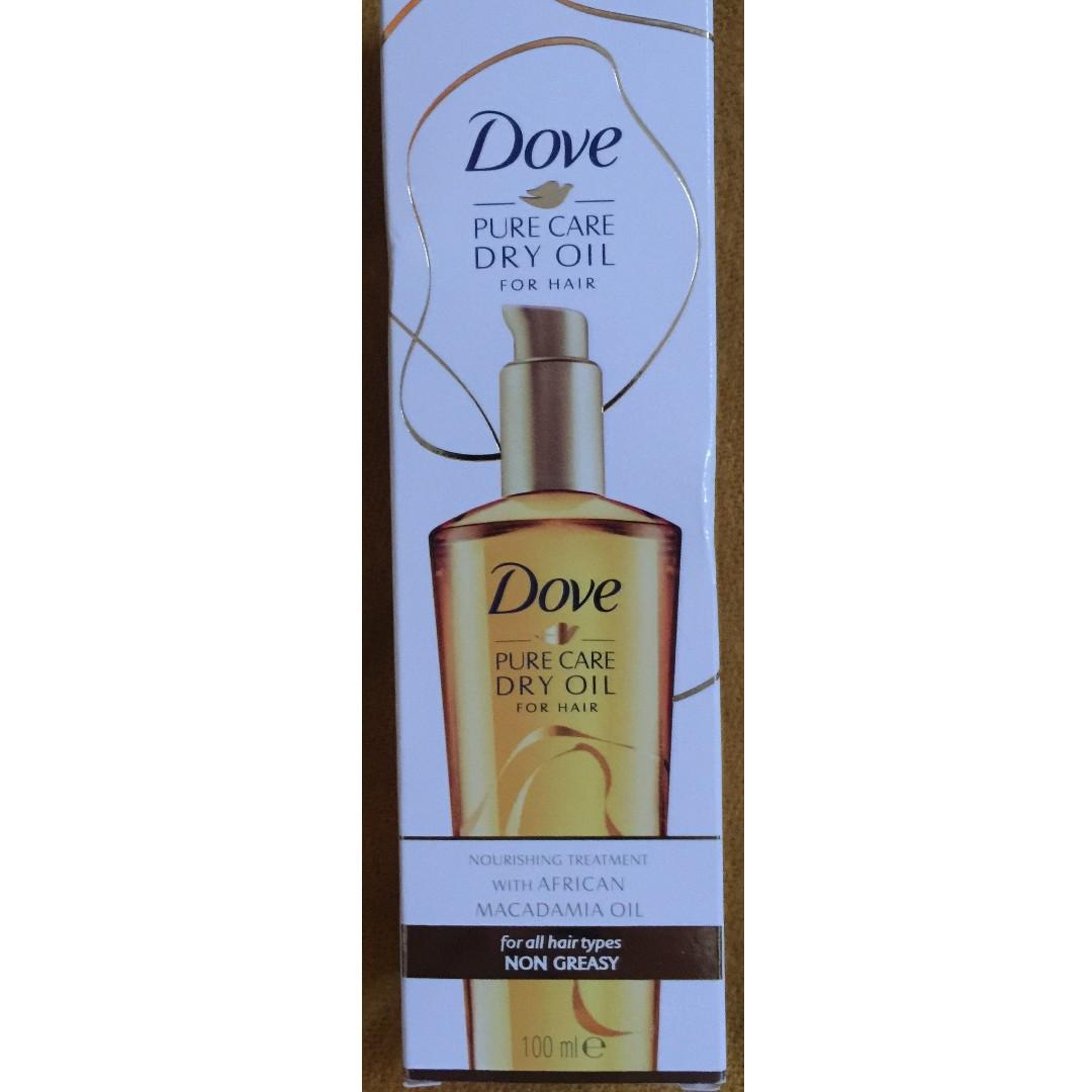Dove Pure Care Dry Oil Kesehatan Kecantikan Perawatan Rambut Di Putri Hair Tonic Hijau 450ml Normal To Oily Carousell