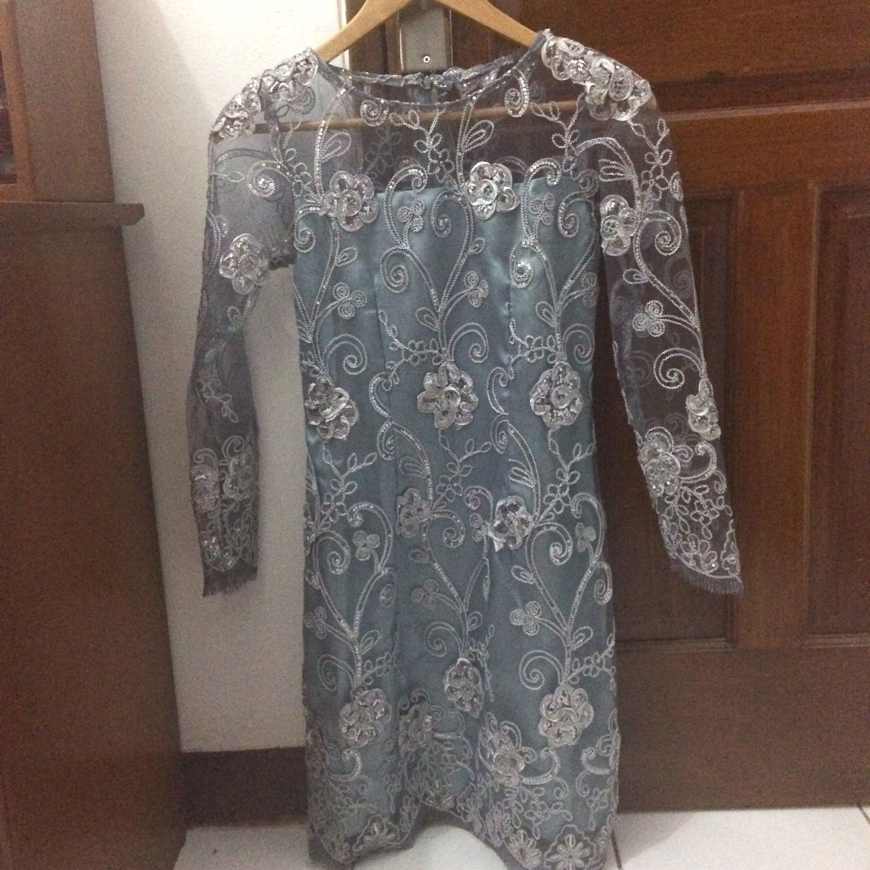 Dress Kebaya Tulle Dress Pesta Kekinian Women S Fashion Women S