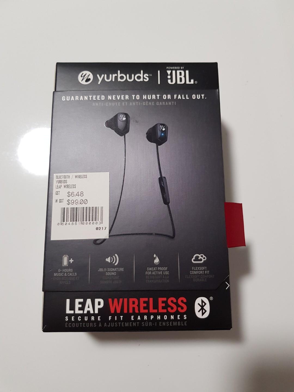 20f58cfd632 Earpiece JBL Yurbuds Leap Wireless, Electronics, Audio on Carousell