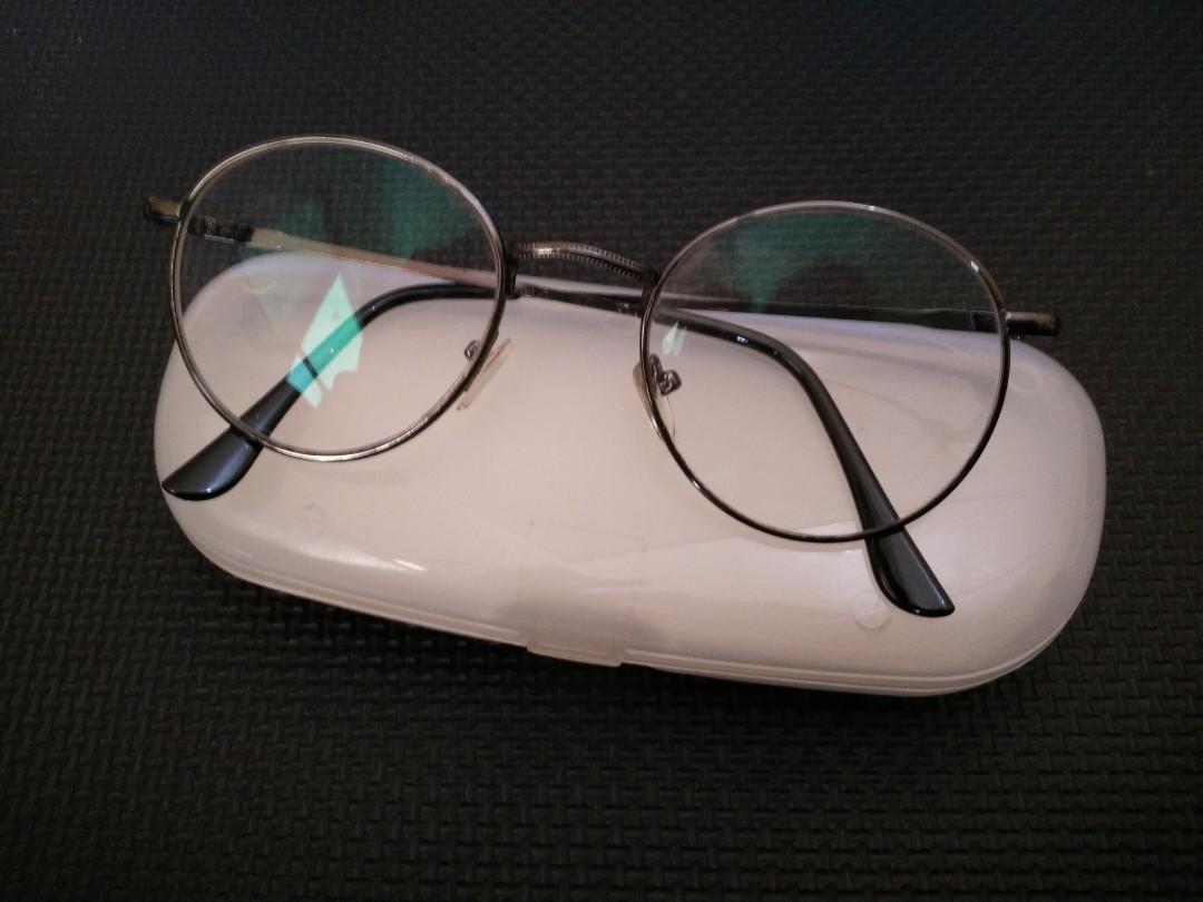 Reprice Setengah Harga  Frame Kacamata Bulat Minus 0.25 00581bb2aa