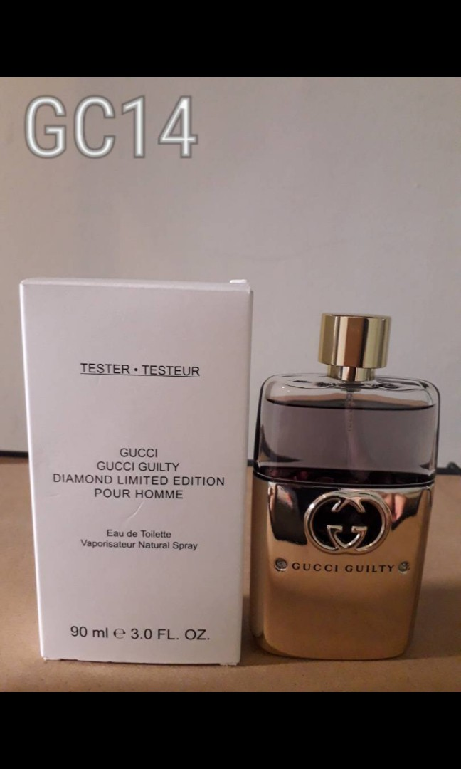 d62ad202232 GC14) Gucci Guilty Diamond Limited Edt edition Pour Homme 90ml ...