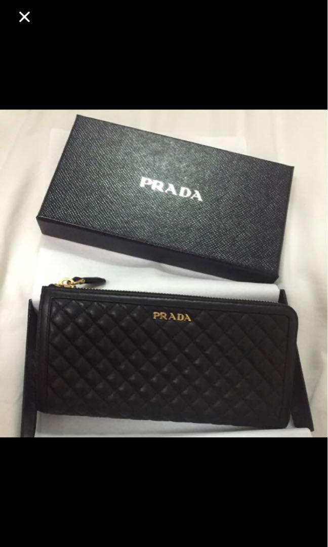 e7fc83c3b212 Genuine Prada Ladies Wallet, Luxury, Bags & Wallets, Wallets on ...