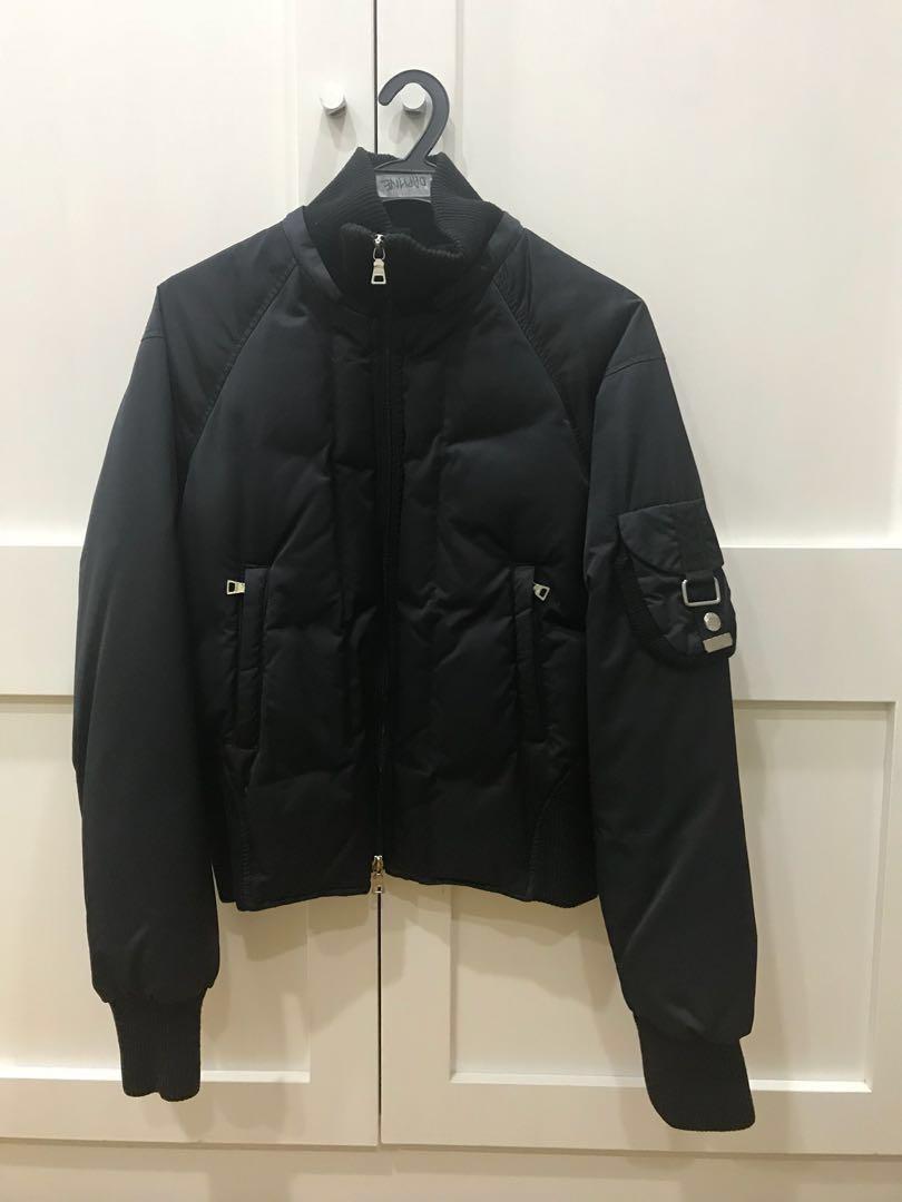 3e4a26411 Guess black winter bomber jacket