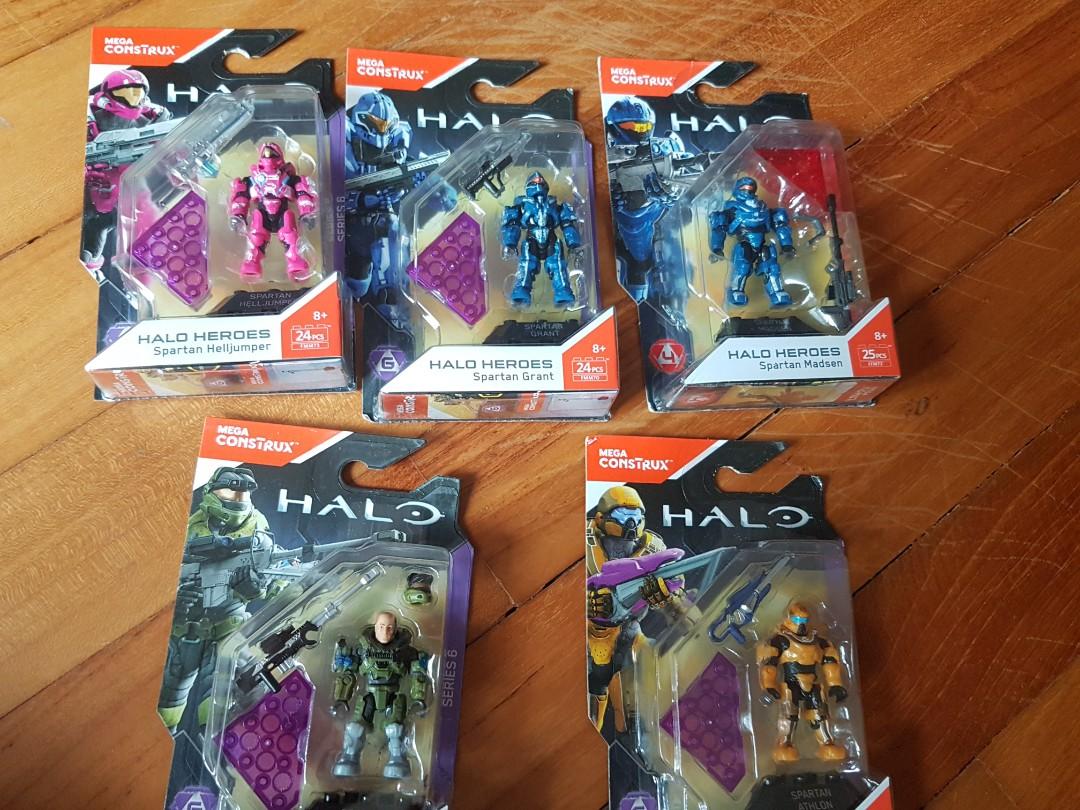 MEGA Construx Halo EROI SERIE 6 Spartan Helljumper Mega