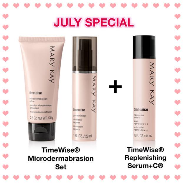 July Special Mary Kay Timewise Microdermabrasion Refine Pore