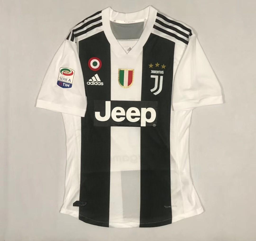 the best attitude 52414 3bbbb Juventus 2018 2019 Ronaldo Jersey