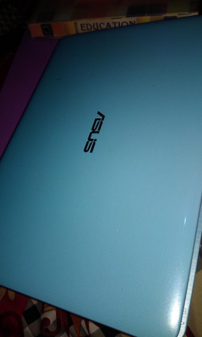 Laptop asus x441s blue light