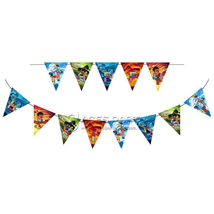 Lego Ninjago party supplies - Ninjago Birthday Banner ...