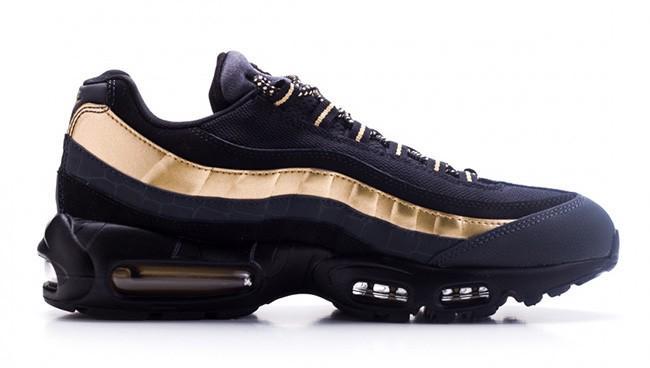 nike air max 95 mens black and gold