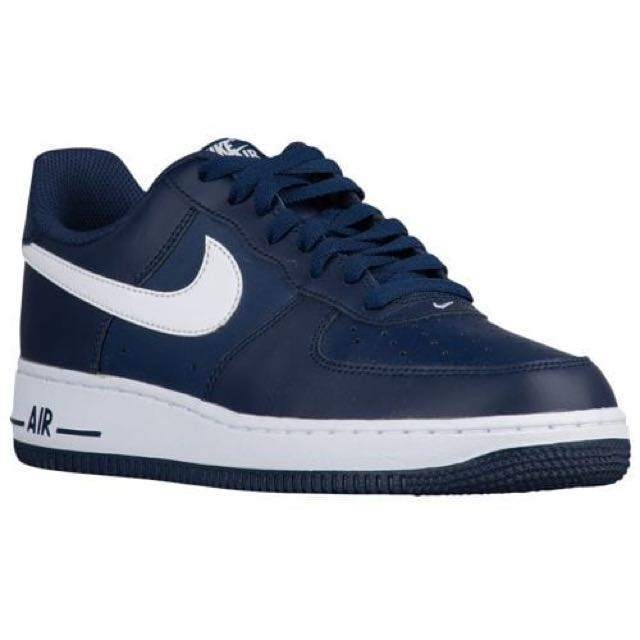 Nike Air Force 1 Low Midnight Navy Blue White 6ff90a29b