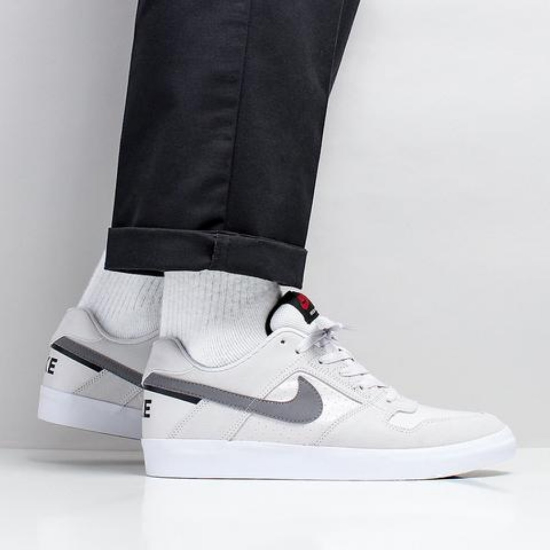 01f315b63c34a NIKE SB DELTA FORCE VULC SHOES – VAST GREY/GUNSMOKE/BLACK/RED CRUSH/WHITE,  Men's Fashion, Footwear, Sneakers on Carousell