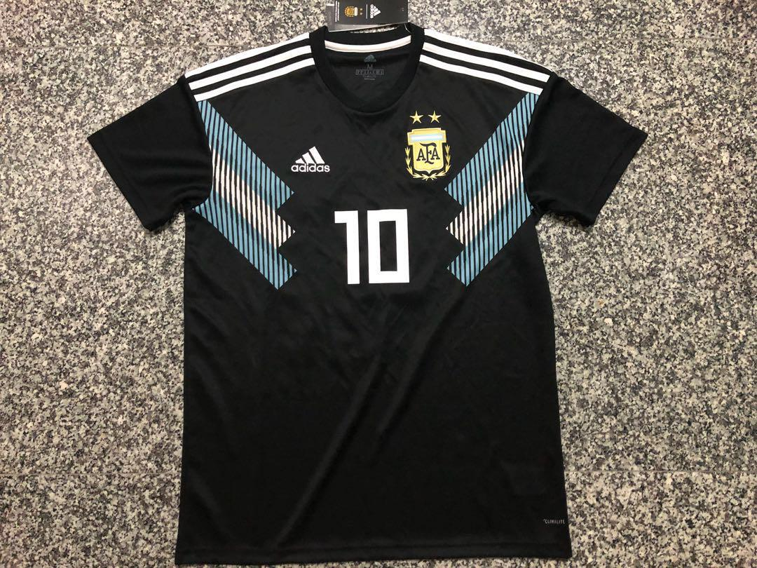45a512692 Original Messi Argentina 2018 World Cup Away jersey (M size) on Carousell
