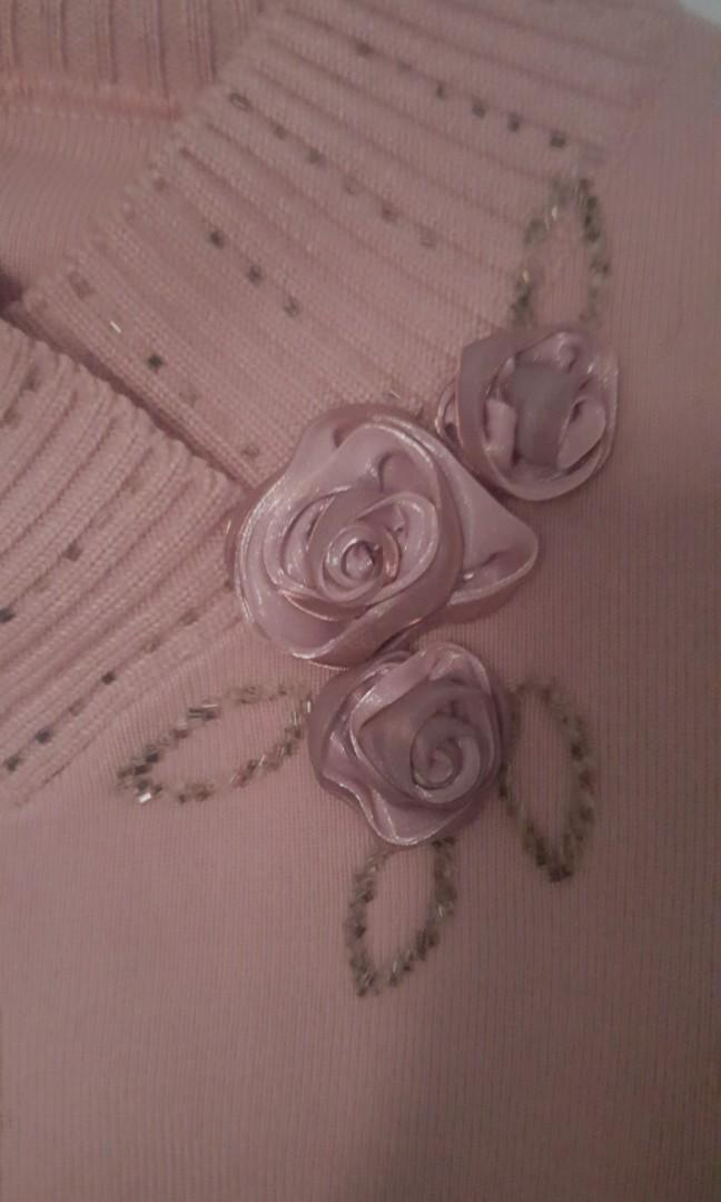 🦄Pink Knit