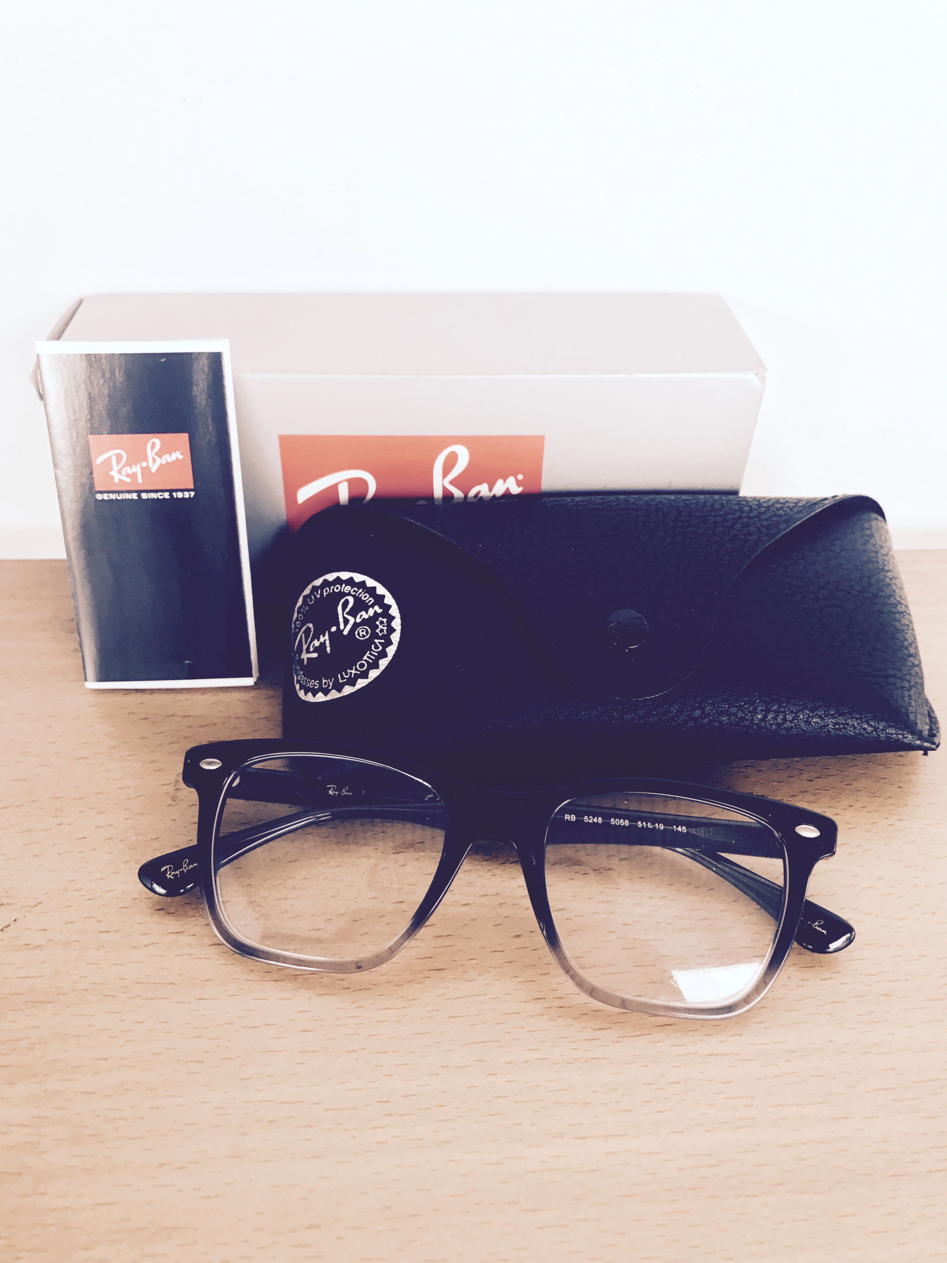 e226a31c83 Rayban Spectacles Frame