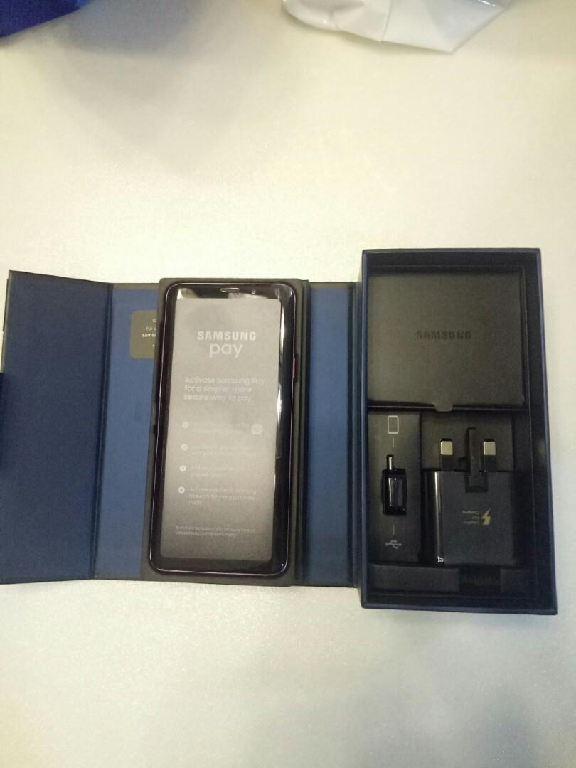 Samsung S9+ 256 GB FREE Samsung Gear 360!