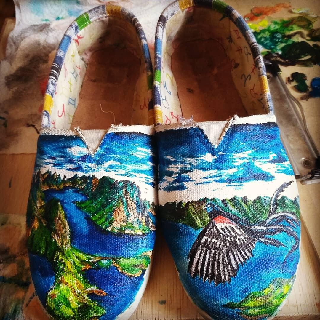 Shoes Art Design/ARTonSHOES/Custom Art Design