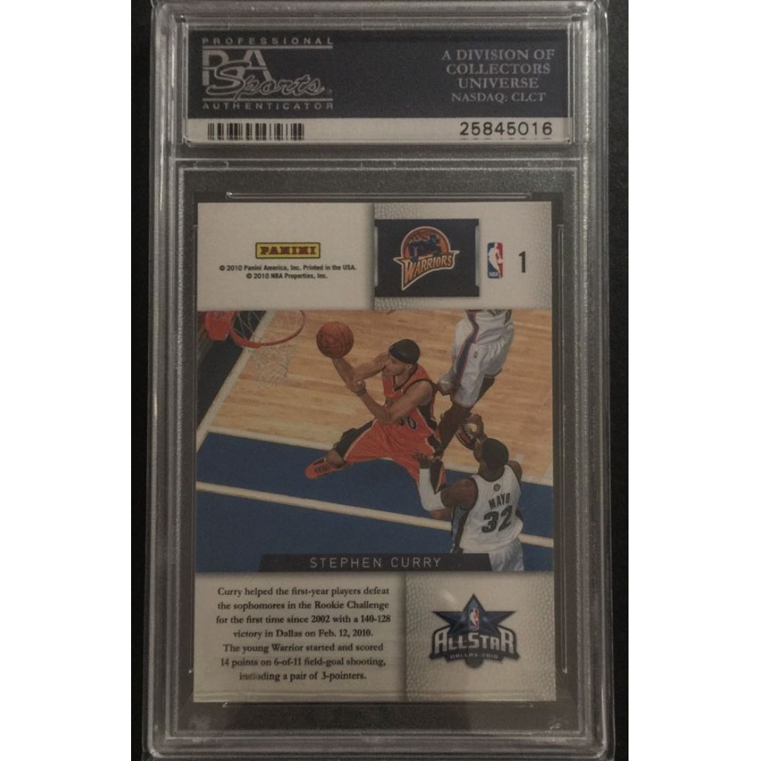 Stephen Curry Rookie Card Challenge Graded By PSA Toys Games Board Cards On Carousell