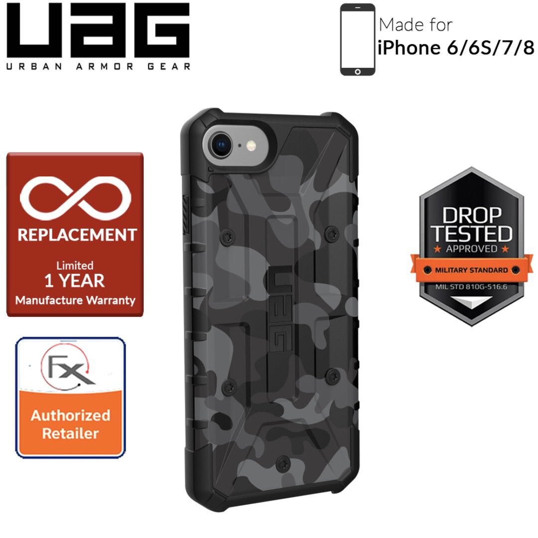 new concept 99295 51b0a UAG Pathfinder SE Series for iPhone 8/7/6s/6 - Midnight Camo
