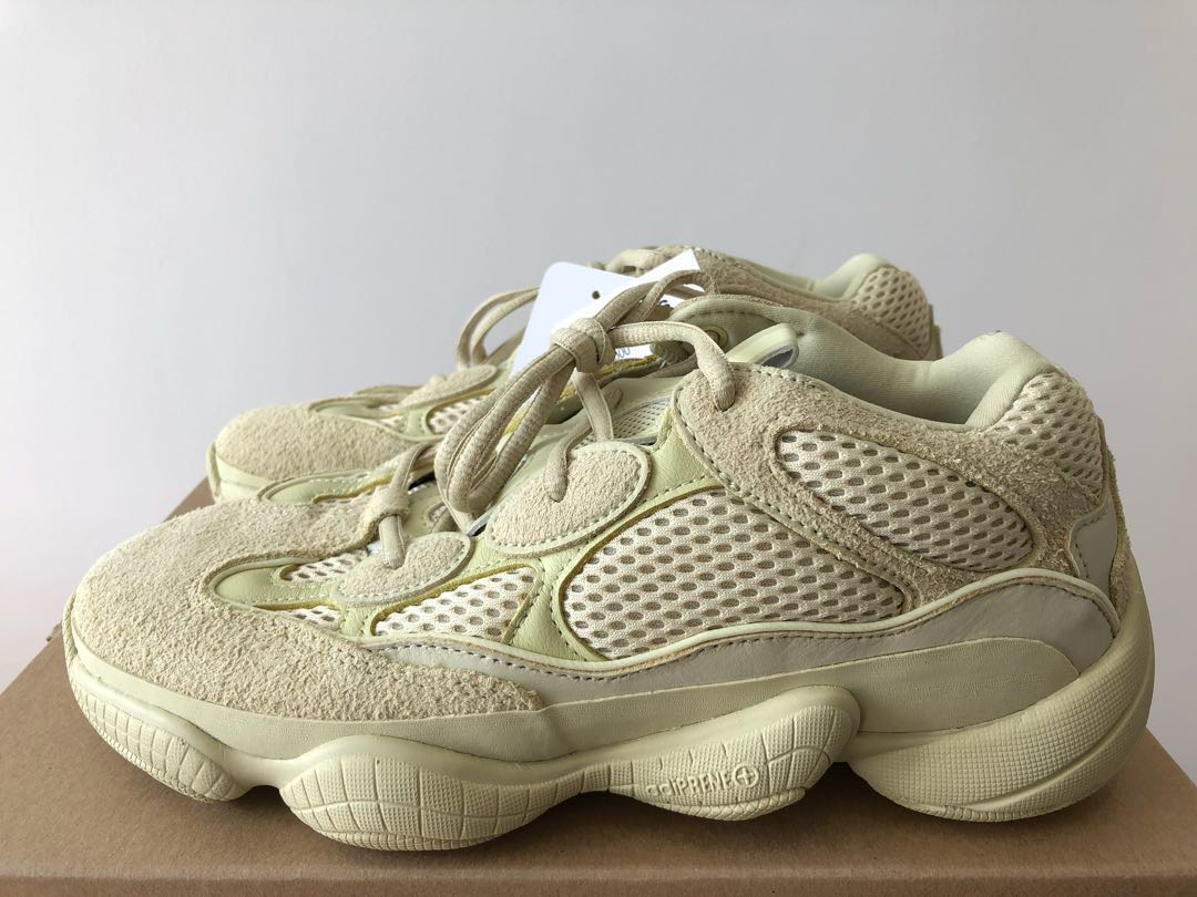 7d0dbaf809063 UK 6.5 US 7 adidas Yeezy 500 Supermoon Super Moon Yellow BRAND NEW ...