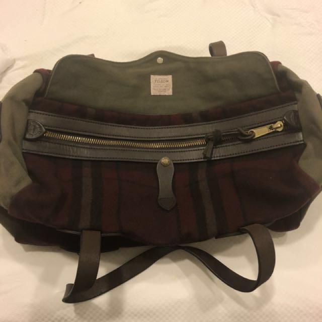 b3adedeed3 ULTRA RARE Filson 100% Wool Small Duffle Bag