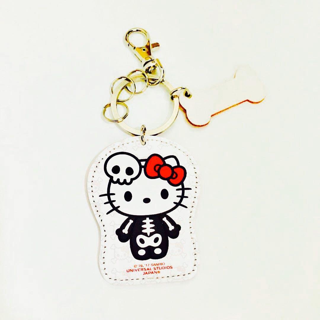 7935d788a Universal studios Japan Sanrio hello kitty keychain key holder ...