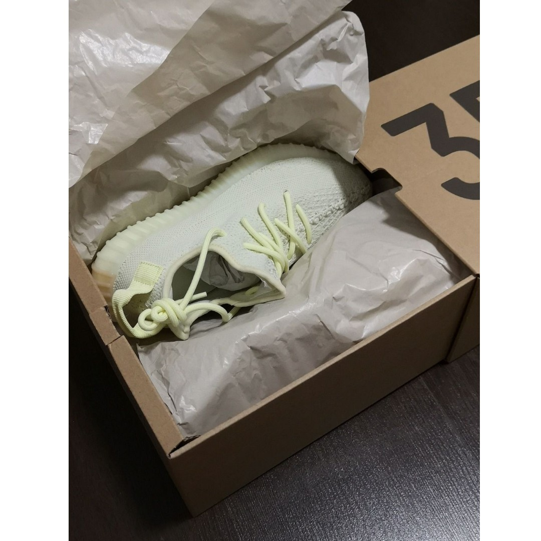 6f98a86940a7c Yeezy Boost 350 V2 Butter (UK4.5   US5)