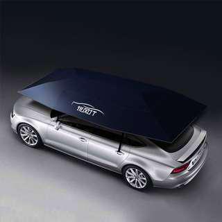 汽車自動遮陽傘防曬智能遙控