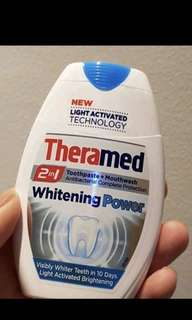 Theramed 2in1 toothpaste + mouthwash