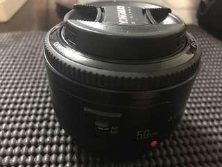 🚚 永諾50mm f1.8 大光圈