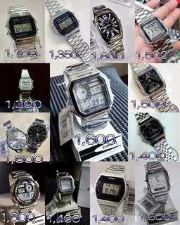 Casio Silver Watches