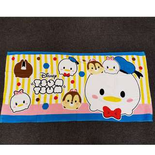 Disney Tsum Tsum Donald, Daisy and Chip Horizontal Design Towel