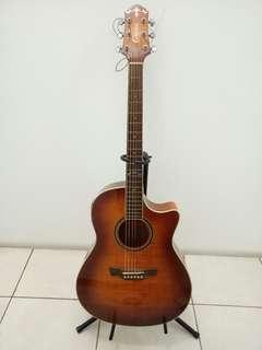 Gitar Akustik Elektrik Crafter AGE-500 TM/VS Acoustic Electric Guitar Ori