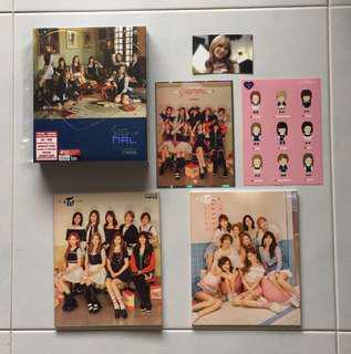 Twice Signal Thailand Edition with Sana photocard