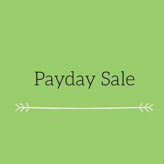 Payday Sale!!!! Stay tuned!!! 😍