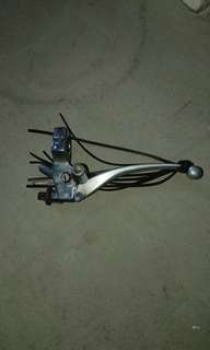 Honda shadow clutch lever assembly