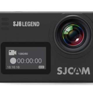 Sjcam 6 Legend and SJ Gimbal Package