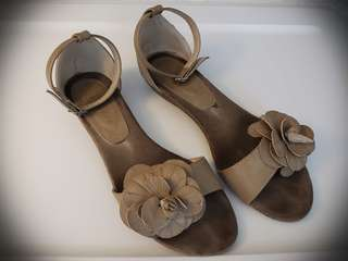 Ankle strap sandals, size 7.5