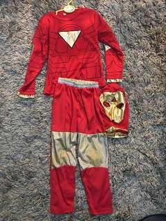 Ironman costume for boy