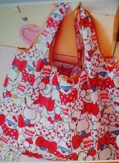 Kitty購物袋(H40×W50cm)
