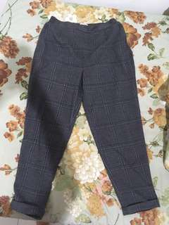 Pull & Bear Checked Trousers