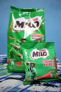 Pahe Milo 1kg Malaysia &milo 50 cube
