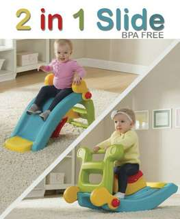 2 in 1 Rocker slide